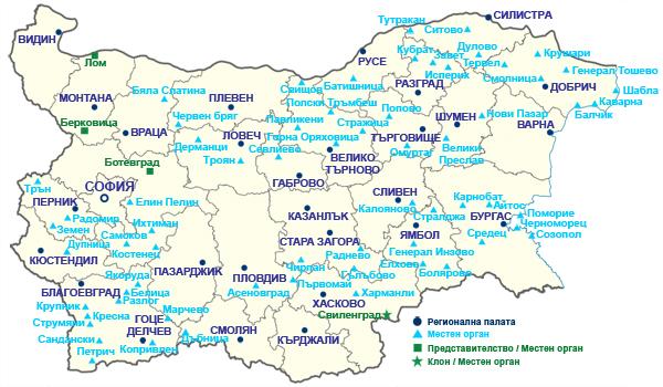 Regionalni Trgovsko Promishleni Palati Karta