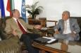 Среща с временно управляващ посолството на Либия в София