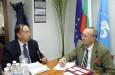 Китайска делегация от провинция Хъбей, Китай посети БТПП