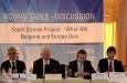 """Търговско-промишлените палати на България, Унгария и Сърбия заявиха подкрепата си за проекта """"Южен поток"""""""