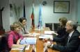 Среща с представители на френската компания Тотал