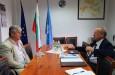 Среща с председателя на Национален алианс за социална отговорност