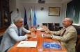 Среща с  почетния консул на Кения у нас