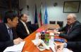 Среща с представители на посолството на Япония