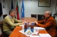 Среща с консултант на бразилската компания Marcopolo