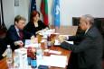 Екип на Европейската банка за възстановяване и развитие на посещение в Палатата