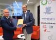 БТПП отличи с почетен диплом Роберто Маскали, директор на Конфиндустрия България и Конфиндустрия Балкани