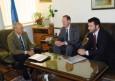 Среща с Грег О'Конър, регионален търговски аташе към Посолството на САЩ