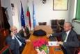 Проф. Васил Мръчков, бивш конституционен съдия, проведе среща с председателя на БТПП