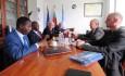 Среща с представител на ръководството на Гвинейска търговска, индустриална и занаятчийска камара