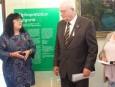 """Вили Ван Импе – дългогодишен партньор на Палатата, е удостоен със """"Златна лаврова клонка"""" за заслуги към България"""