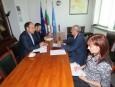 Икономическият съветник на Посолството на Ислямска Република Иран в София разговаря с Цветан Симеонов