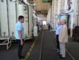 Цветан Симеонов посети ЦЕРБ - първото и най-голямо предприятие в областта на енергийните ремонти в България, член на БТПП