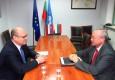 Новоназначеният извънреден и пълномощен посланик на Словашката Република в София проведе среща с председателя на БТПП