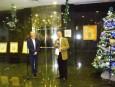 """Цветан Симеонов официално откри изложба-живопис и графика """"Ретроспекция на цивилизацията"""" в БТПП"""