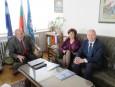 Н.Пр. Роналд Дофинг – извънреден и пълномощен посланик на Люксембург, се срещна с Цветан Симеонов