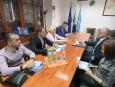 Среща с представители на албанска фирма