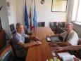 Среща с управител на македонска търговска компания
