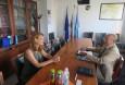 Среща с новоназначения търговски съветник в Посолството ни в Берн