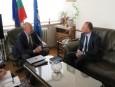 Среща с Фабрицио Дзарконе, постоянен представител за България на Световната банка