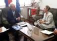 Новоназначеният посланик на Албания посети БТПП