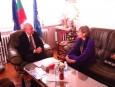 Среща с новия посланик на Куба у нас - Н. Пр. Каридад Ямира Куето Милиан