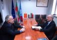 Среща с посланика на Македония