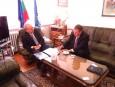 Среща с новоназначения посланик на България в Ливан
