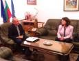 Среща с директора на Софийската гимназия по строителство, архитектура и геодезия