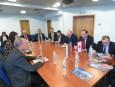 Среща с министъра на външните работи и емигрантите на Ливан