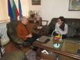 Среща с директора на TAITRA в София