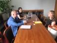 Среща с новоназначения ръководител на Службата по търговско-икономически въпроси в Берлин