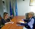 Среща с новия търговски съветник към посолството на Унгария