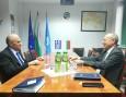 Среща с новоназначения извънреден и пълномощен посланик на Гърция