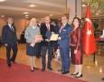 Почетна диплома на БТПП за Н. Пр. д-р Хасан Улусой