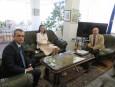 Среща с новия ръководител на СТИВ-Анкара
