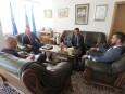 Среща с временно управляващия посолството на Либия в София