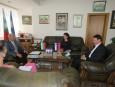 Среща с посланика на Словения в София Н.Пр. Анжей Франгеш