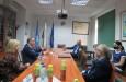 Среща с представители на Международната банка за икономическо сътрудничество