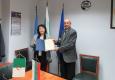 Почетна диплома на БТПП за посланика на Алжир в България