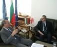 На среща в БТПП посланикът на Грузия в България Н.П. г-н Михеил Уклеба съобщи за желанието за създаване на Българо-грузинска търговско-промишлена палата