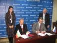 Председателят Цветан Симеонов подписа споразумение за сътрудничество между БТПП и Экспоцентр