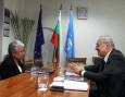 Среща с посланика на Шри Ланка
