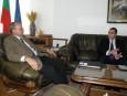 Среща с изпълнителен директор на Goldman Sachs International за България