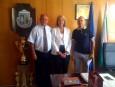 Цветан Симеонов и г-жа Шиила Камерър посланик на ЮАР се срещнаха с кмета на Велинград